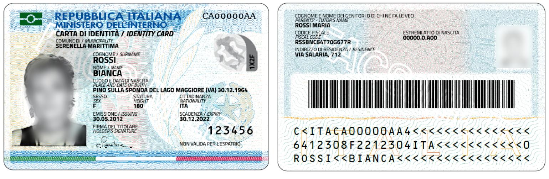 Carta Di Identità Comune Di Cepagatti